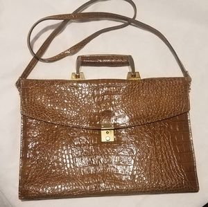 Vintage snake skin messenger bag offers WELCOMED